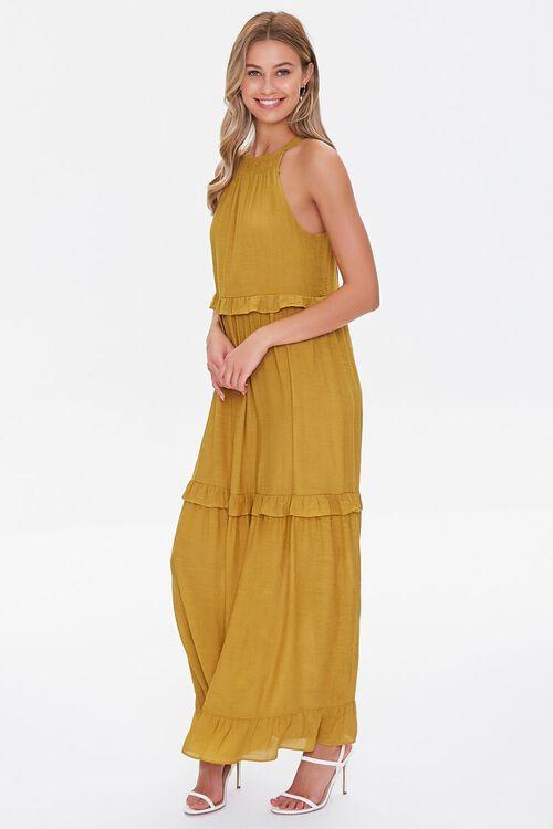 Tiered Halter Maxi Dress, image 2