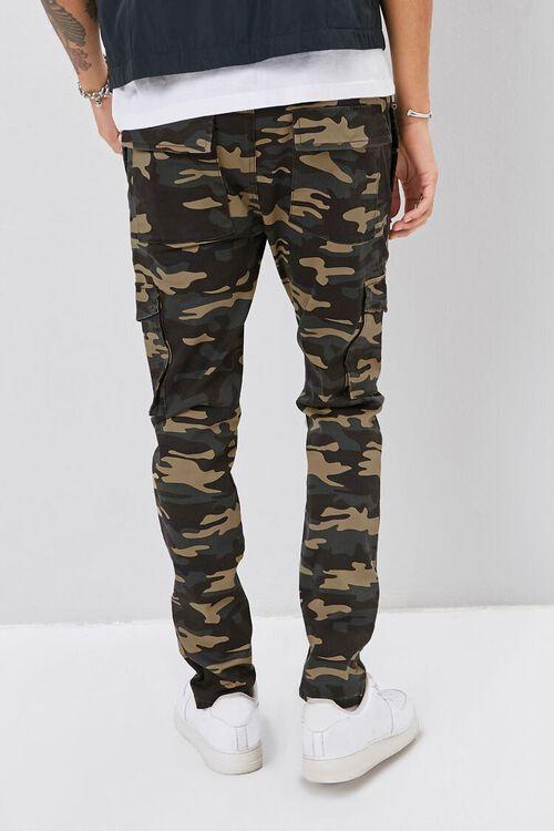 Camo Print Cargo Pants, image 4