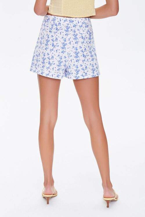 Floral Print High-Rise Shorts, image 4