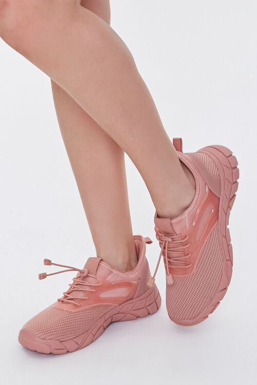 Recycled Lace-Up Low-Top Sneakers, image 1
