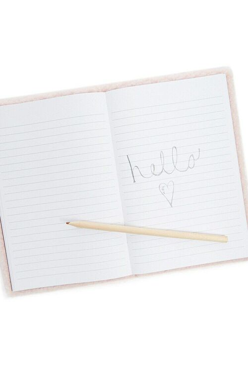 Faux Shearling Notebook, image 2