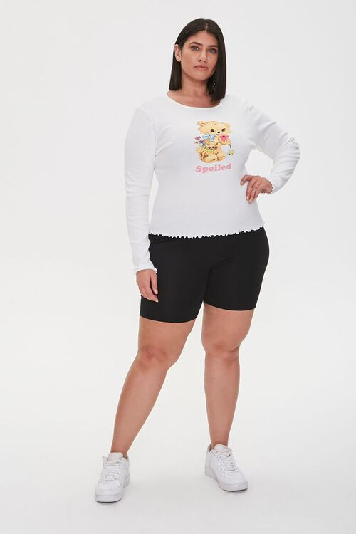 Plus Size Spoiled Graphic Top, image 4