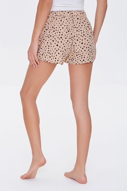 Spotted Print Lounge Shorts, image 4
