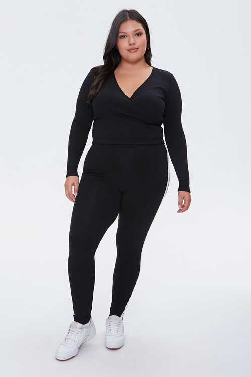 Plus Size Crossover Crop Top, image 4