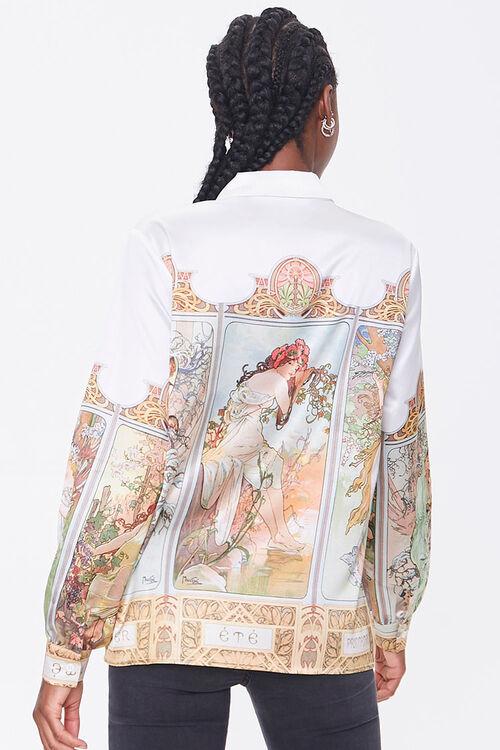 Alphonse Mucha Art Print Shirt, image 3