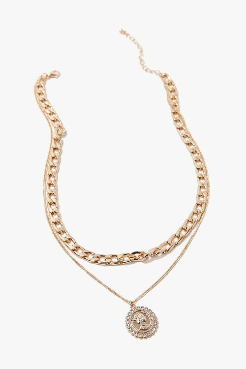 Layered Pendant Necklace, image 3