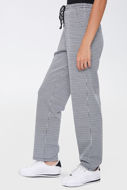 Houndstooth Wide-Leg Pants, image 3