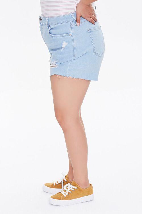 Plus Size Retro High-Rise Shorts, image 3