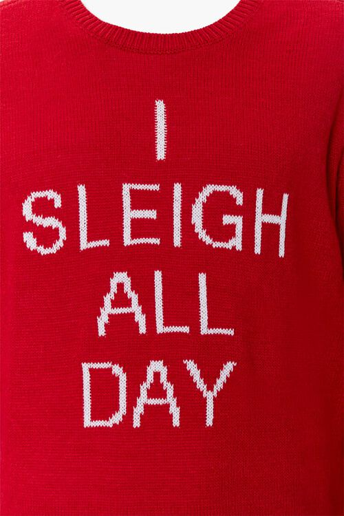 Sleigh All Day Graphic Knit Sweater, image 4