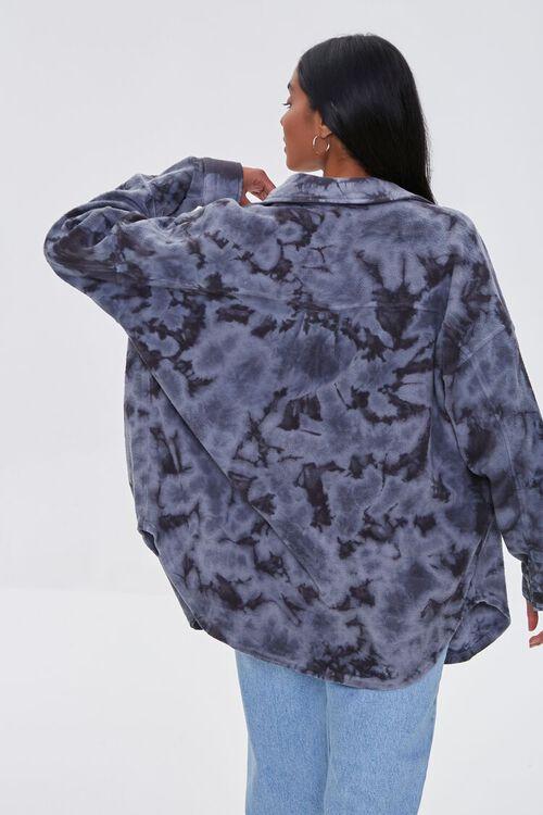 Tie-Dye Fleece Shacket, image 3