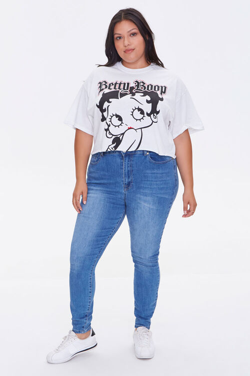 Plus Size Betty Boop Graphic Tee, image 4