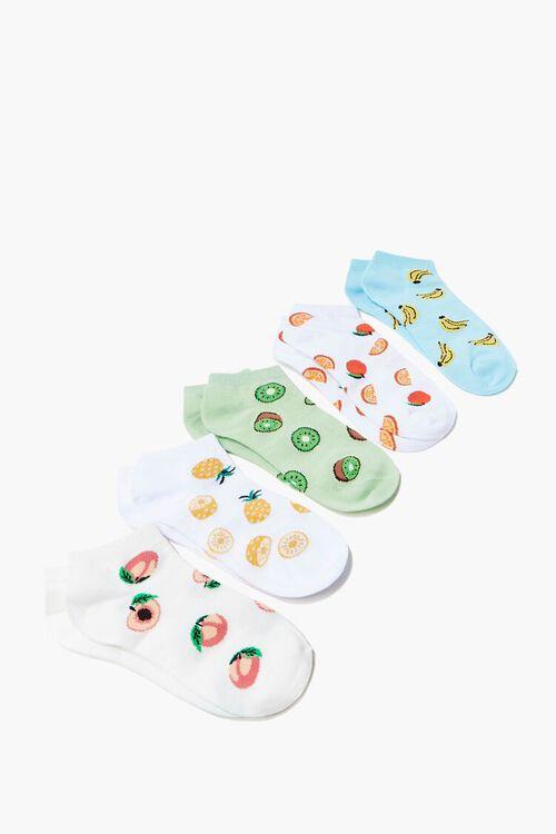 Fruit Ankle Socks Set - 5 pack, image 1