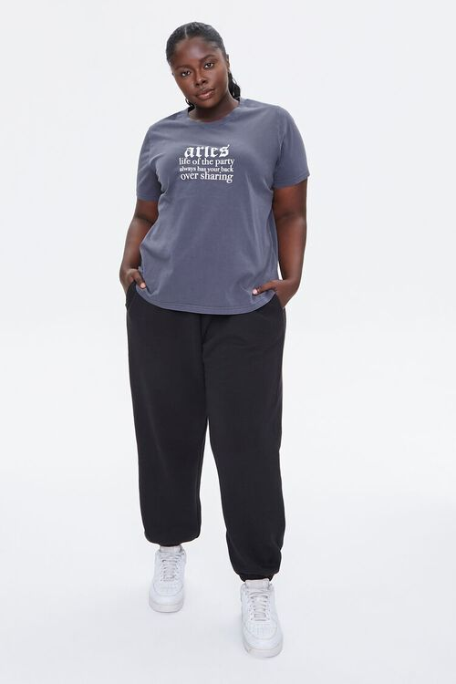 Plus Size Aries Graphic Tee, image 4