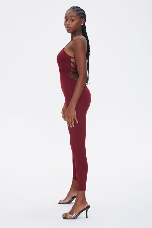 Lace-Back Fitted Jumpsuit, image 2