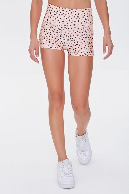 Active Cheetah Print Shorts, image 2