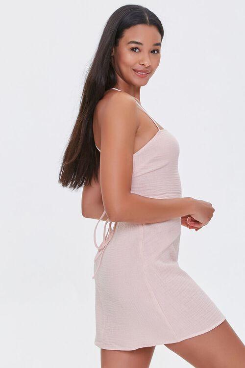 BLUSH Crisscross-Back Mini Dress, image 2
