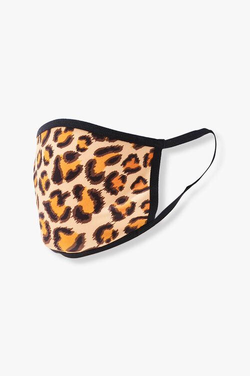 Leopard Print Face Mask, image 2