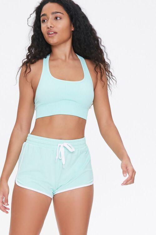 Active Stripe Ringer Shorts, image 1