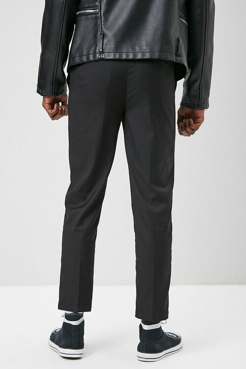 Slim-Fit Woven Trousers, image 3