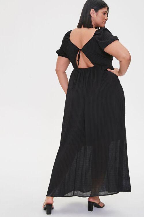 Plus Size Cutout-Back Maxi Dress, image 1