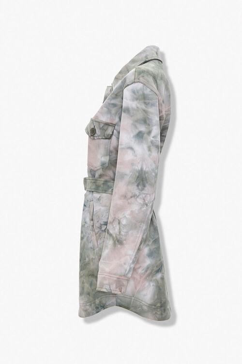Tie-Dye Shirt Jacket, image 2