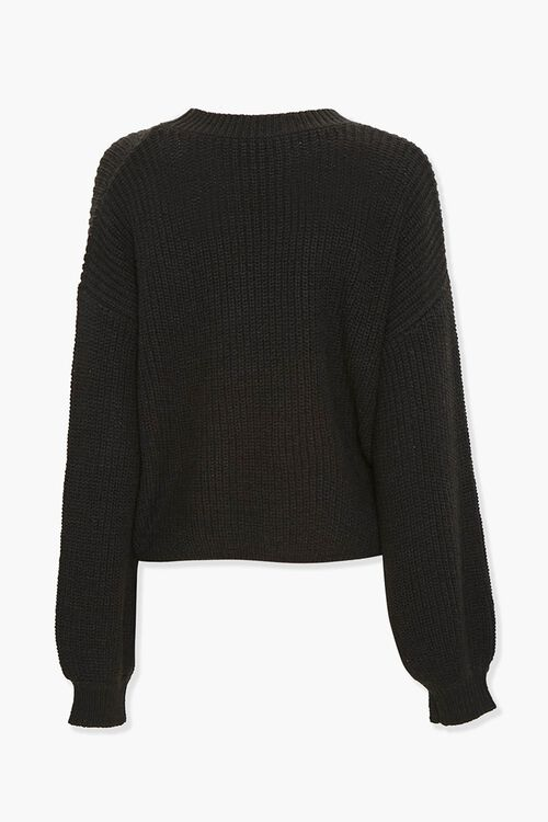 Ribbed Knit Sweater, image 3