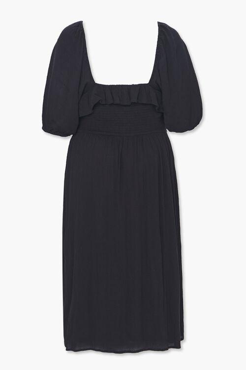 Plus Size Smocked Peasant Dress, image 2