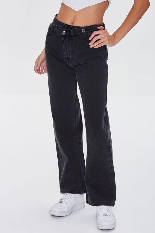 Premium Crisscross 90s-Fit Jeans, image 2
