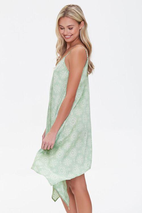 Ornate Print Handkerchief Dress, image 2