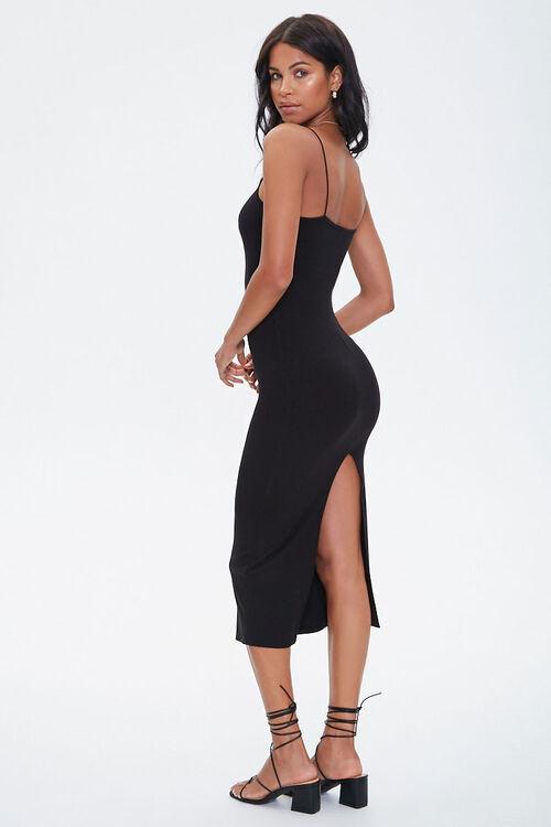 Ribbed Slit Midi Dress, image 5