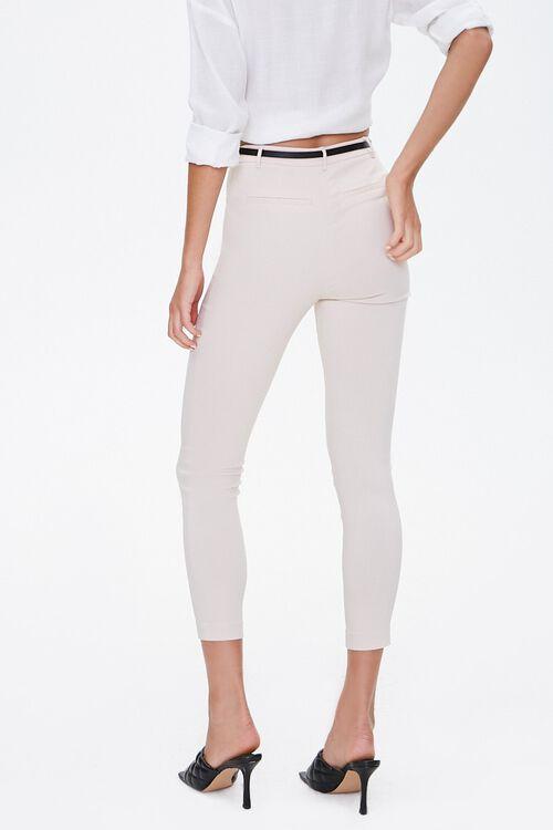 Skinny Belted Harper Pants, image 3