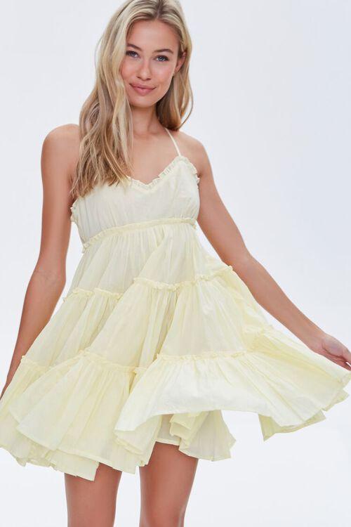 Tiered Fit & Flare Mini Dress, image 1