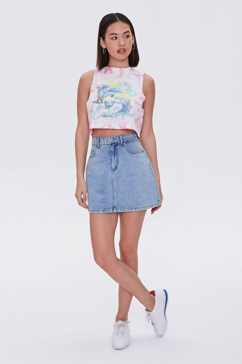 California Dolphin Graphic Crop Top, image 4