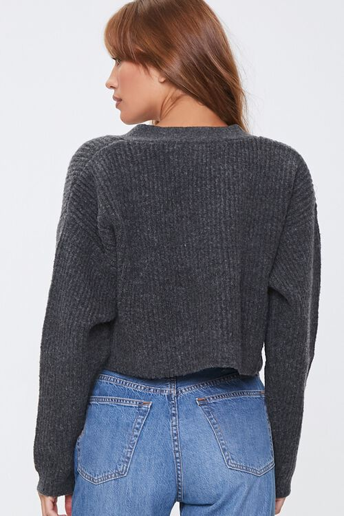 Cropped Cardigan Sweater, image 3