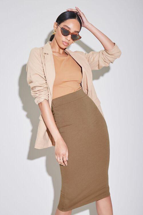 High-Rise Pencil Skirt, image 6