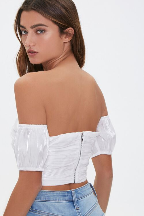 Off-the-Shoulder Sweetheart Top, image 3