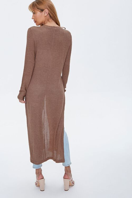 Longline Cardigan Sweater, image 3