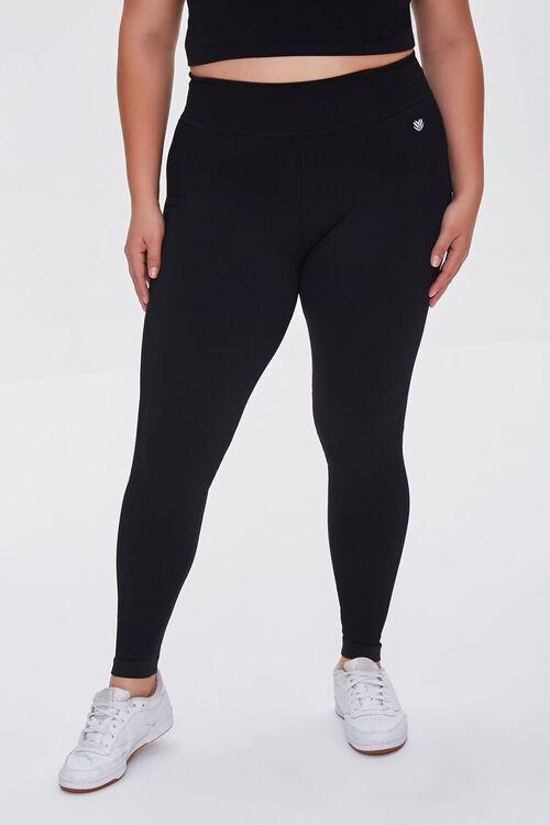 Plus Size Active High-Rise Leggings, image 2