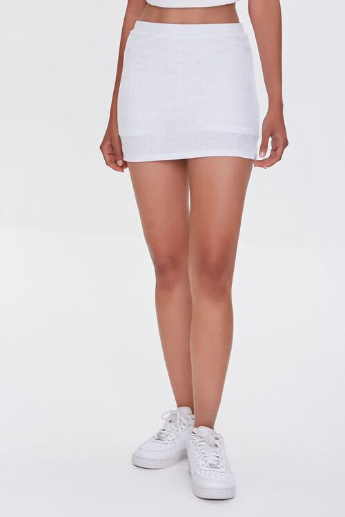 Vented Mini Skirt, image 2