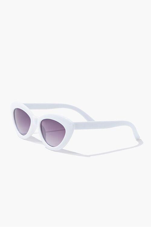 Opaque Cat-Eye Sunglasses, image 3