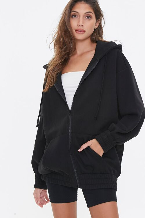 Fleece Zip-Up Hoodie, image 1