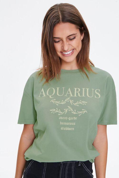 Aquarius Graphic Tee, image 1