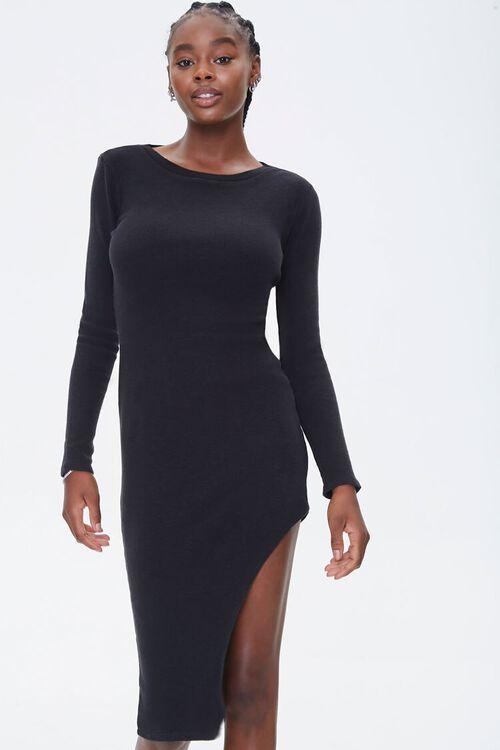 Asymmetrical Bodycon Dress, image 4