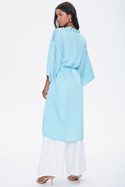 Belted Longline Kimono, image 3