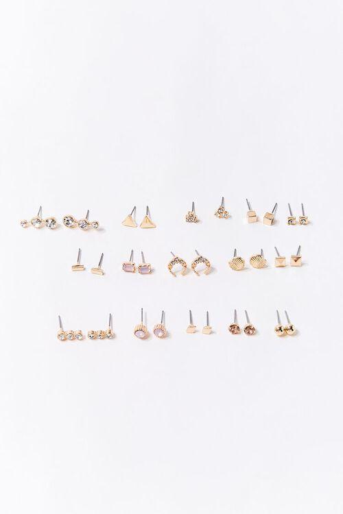 Geo Variety Stud Earring Set, image 1