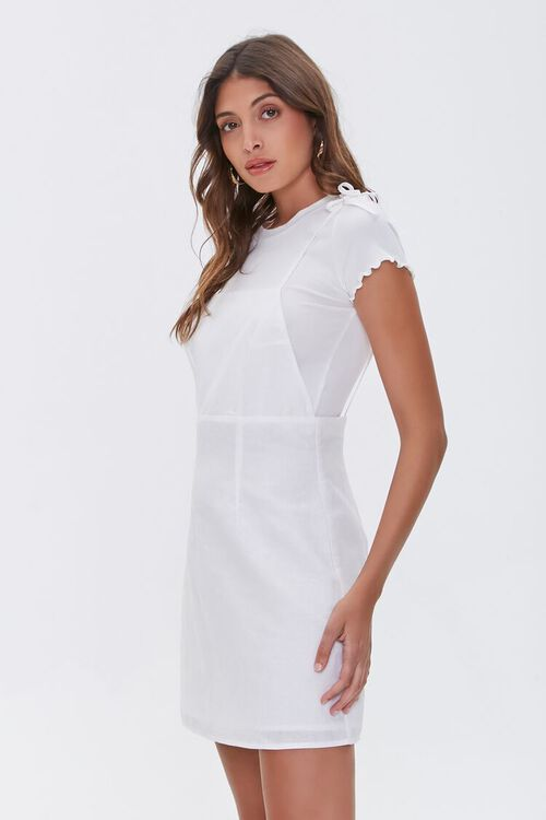 Linen-Blend Cami Dress, image 3