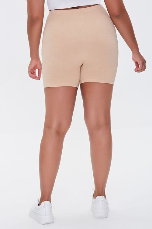 Plus Size Basic Biker Shorts, image 4