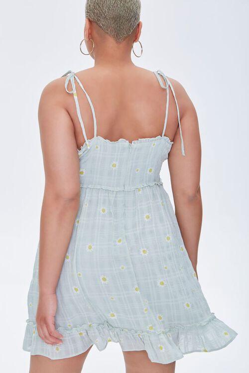 Plus Size Floral Mini Dress, image 3