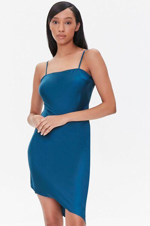 Satin Cami Slip Dress, image 1
