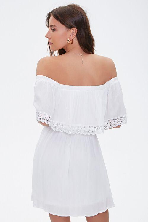 Crochet Off-the-Shoulder Dress, image 3